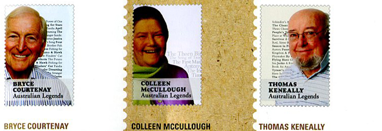 Colour Legends stamps in Priority magazine