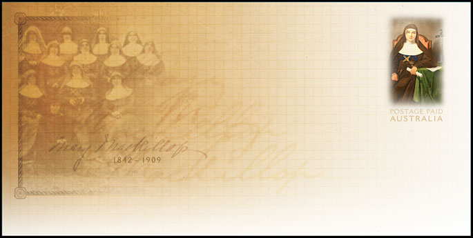 Mary MacKillop Envelope