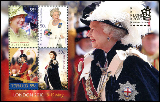 Queen's Birthday Miniature Sheet