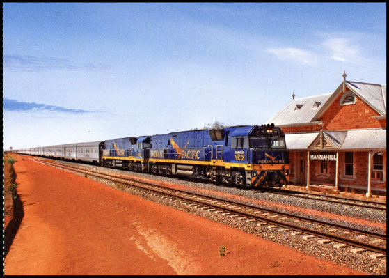 Indian Pacific Card