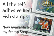 Reef Fish Self-adhesives now available.