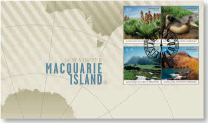 Macquarie Island first day cover