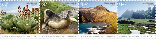 Macquarie Island stamps