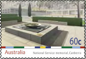 National Service Memorial Stamp