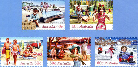Long Weekend Stamps
