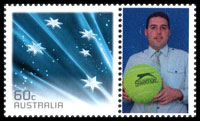 Australia Open Personalised stamp