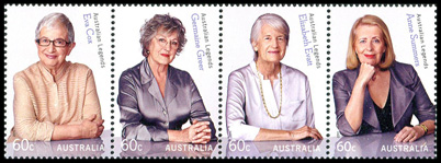 2011 Australian Legends stamps