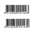 100 Years of the Northern Territory prepaid envelope barcodes