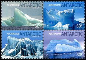 AAT Icebergs block of four