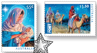 Christmas 2011 stamps religious