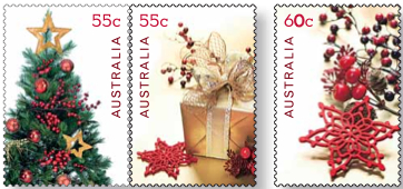 Christmas 2011 stamps secular
