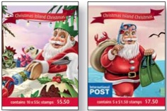 Christmas Island Christmas 2011 booklet covers