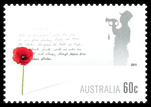 60c Remembrance Day Stamp