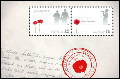 Remembrance Day miniature sheet