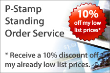Personalised stamp service.